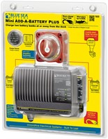 Add-a-battery mini med batteriladdare